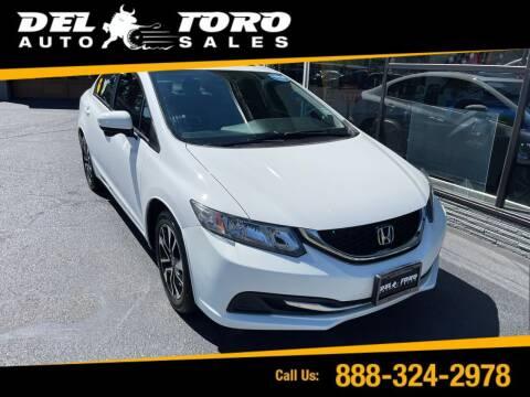 2015 Honda Civic for sale at DEL TORO AUTO SALES in Auburn WA