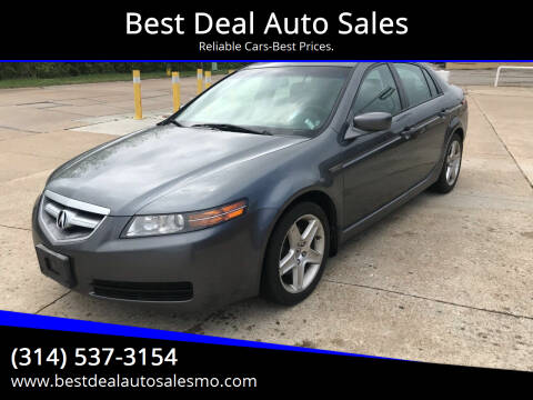 2005 Acura TL for sale at Best Deal Auto Sales in Saint Charles MO
