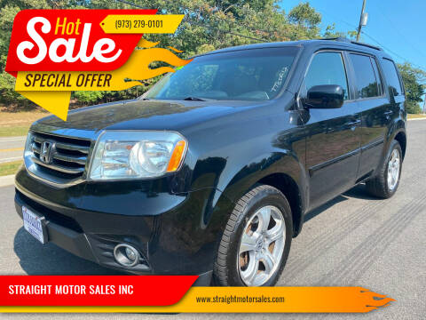 2012 Honda Pilot for sale at STRAIGHT MOTOR SALES INC in Paterson NJ