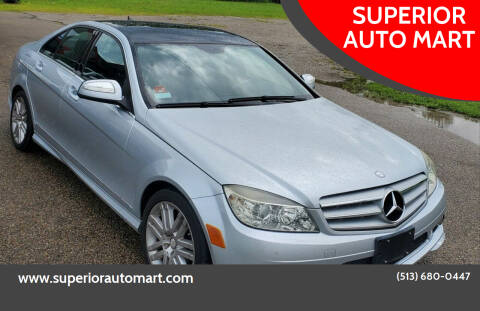2008 Mercedes-Benz C-Class for sale at SUPERIOR AUTO MART in Amelia OH