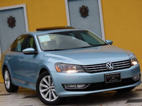 2013 Volkswagen Passat for sale at Paradise Motor Sports LLC in Lexington KY