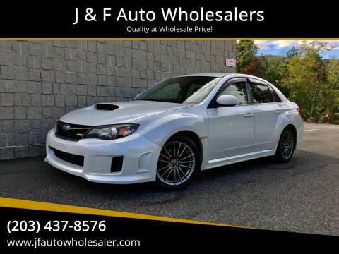 2011 Subaru Impreza for sale at J & F Auto Wholesalers in Waterbury CT