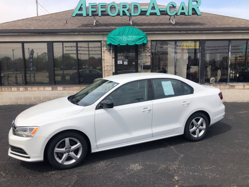 2016 Volkswagen Jetta for sale at Afford-A-Car in Moraine OH