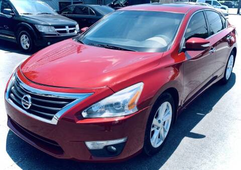 2014 Nissan Altima for sale at RD Motors, Inc in Charlotte NC