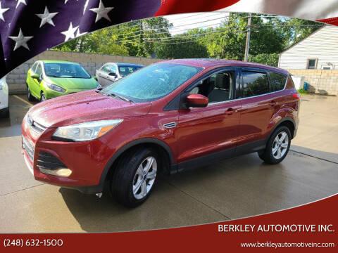 2014 Ford Escape for sale at Berkley Automotive Inc. in Berkley MI
