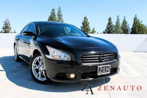 2013 Nissan Maxima for sale at Zen Auto Sales in Sacramento CA