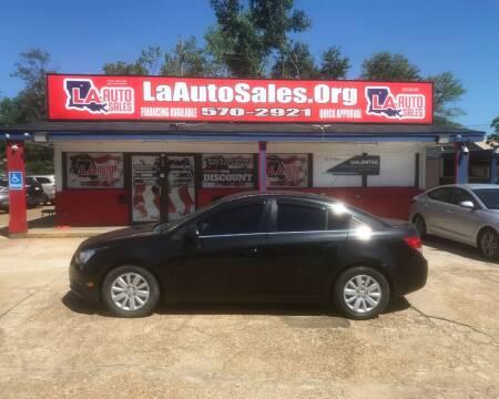 2011 Chevrolet Cruze for sale at LA Auto Sales in Monroe LA