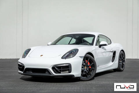 2016 Porsche Cayman for sale at Nuvo Trade in Newport Beach CA