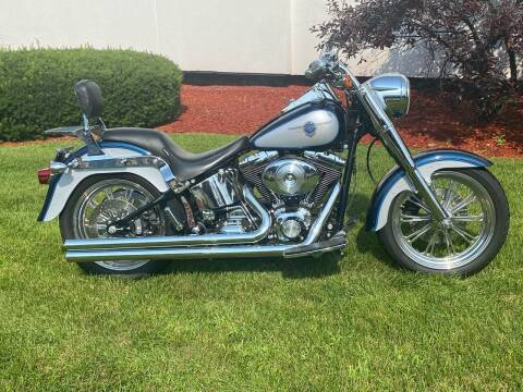 2001 Harley davidson Fatboy for sale at Metro Mike Trading & Cycles in Albany NY