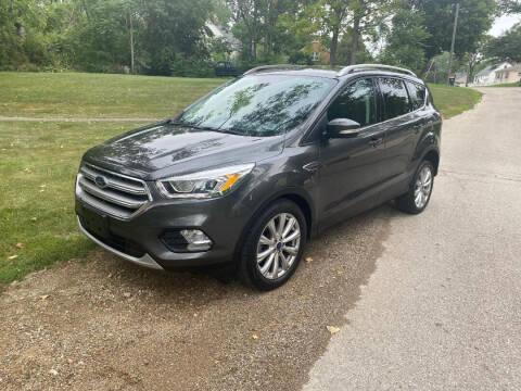 2017 Ford Escape for sale at Triangle Auto Sales in Elgin IL