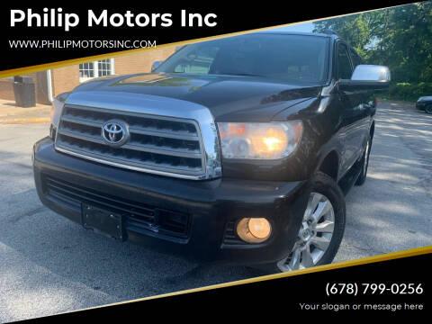 2011 Toyota Sequoia for sale at Philip Motors Inc in Snellville GA