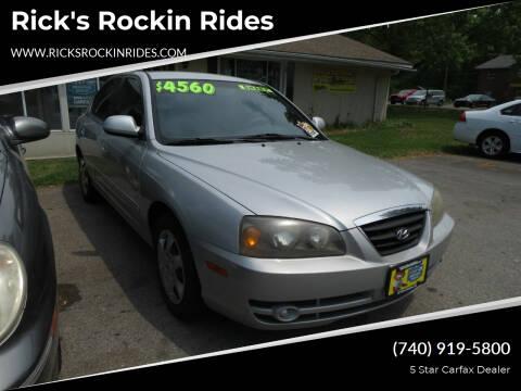 2005 Hyundai Elantra for sale at Rick's Rockin Rides in Reynoldsburg OH