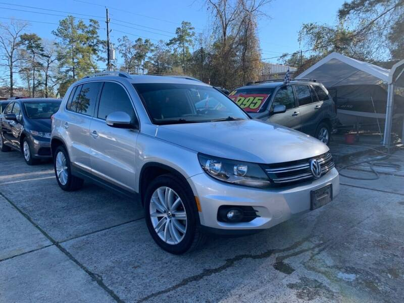 2012 Volkswagen Tiguan for sale at AUTO WOODLANDS in Magnolia TX