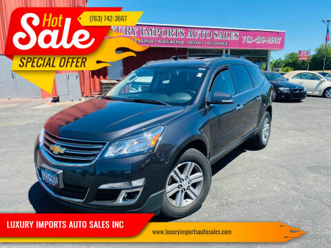 2015 Chevrolet Traverse for sale at LUXURY IMPORTS AUTO SALES INC in North Branch MN