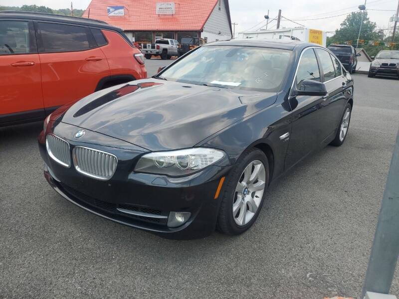 2011 BMW 5 Series for sale at Mulligan's Auto Exchange LLC in Paxinos PA