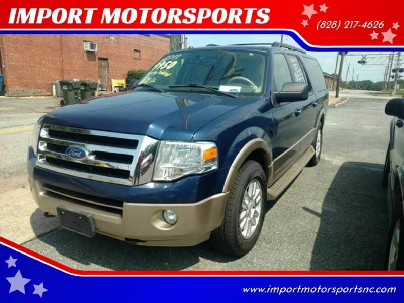 2011 Ford Expedition EL for sale at IMPORT MOTORSPORTS in Hickory NC