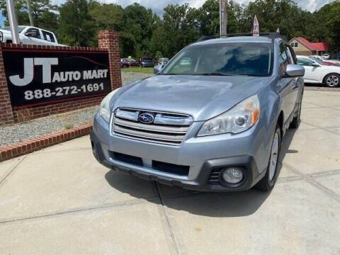2014 Subaru Outback for sale at J T Auto Group in Sanford NC