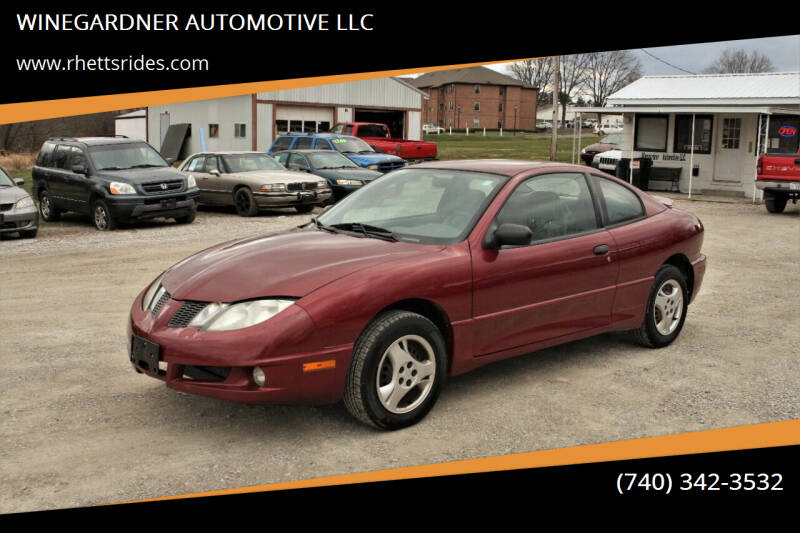 2005 Pontiac Sunfire for sale at WINEGARDNER AUTOMOTIVE LLC in New Lexington OH