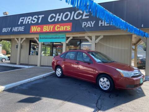 2009 Ford Focus for sale at First Choice Auto Sales in Rock Island IL