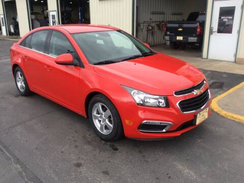 2016 Chevrolet Cruze Limited for sale at TRI-STATE AUTO OUTLET CORP in Hokah MN