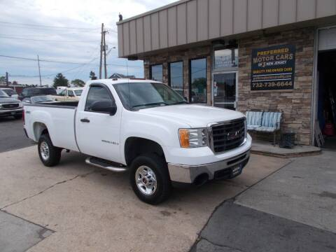 2007 GMC Sierra 2500HD for sale at Preferred Motor Cars of New Jersey in Keyport NJ