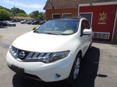 2009 Nissan Murano for sale at AP Automotive in Cary NC