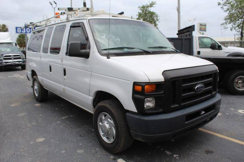 2012 Ford E-Series Cargo for sale at Truck and Van Outlet in Miami FL