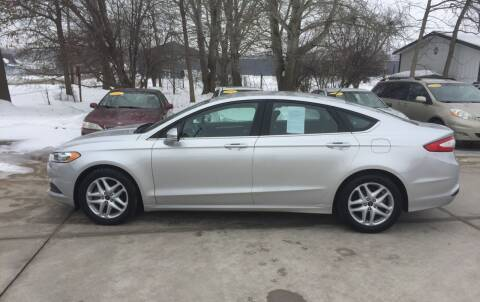 2014 Ford Fusion for sale at 6th Street Auto Sales in Marshalltown IA