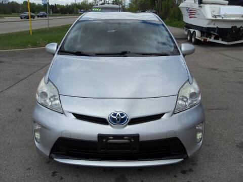 2012 Toyota Prius for sale at GLOBAL AUTOMOTIVE in Gages Lake IL