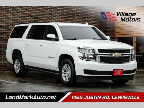 2016 Chevrolet Suburban for sale at Village Motors in Lewisville TX