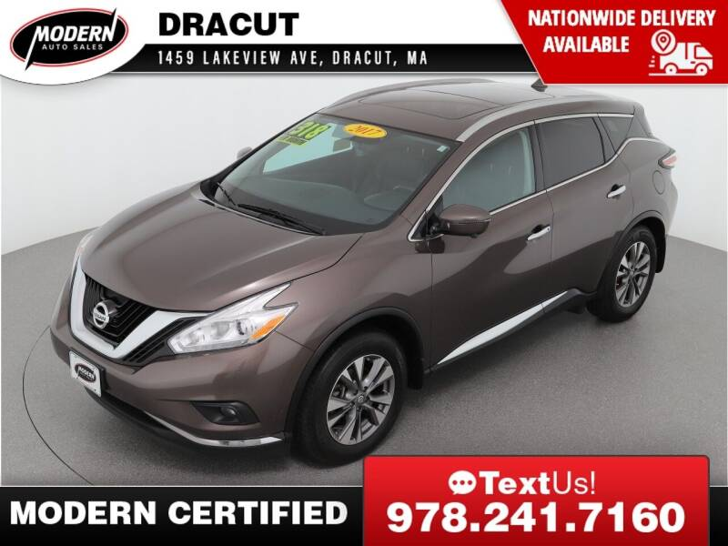 2017 Nissan Murano for sale at Modern Auto Sales in Tyngsboro MA