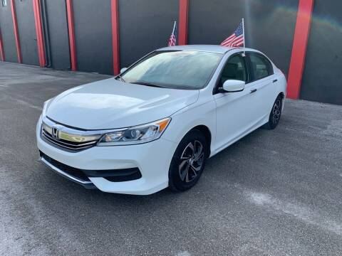 2017 Honda Accord for sale at Ven-Usa Autosales Inc in Miami FL