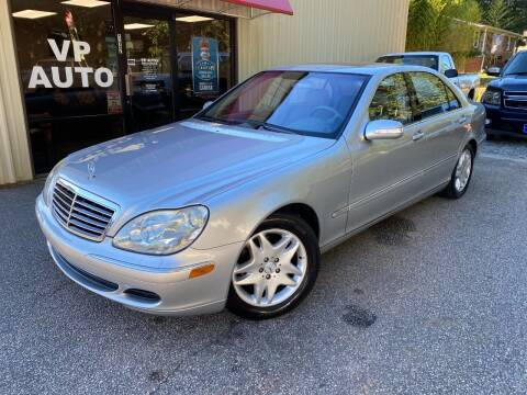 2003 Mercedes-Benz S-Class for sale at VP Auto in Greenville SC