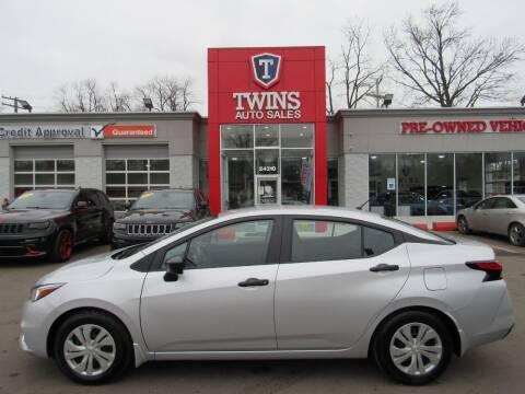 2020 Nissan Versa for sale at Twins Auto Sales Inc in Detroit MI