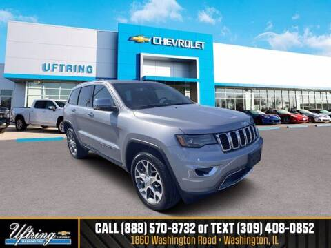 2021 Jeep Grand Cherokee for sale at Gary Uftring's Used Car Outlet in Washington IL