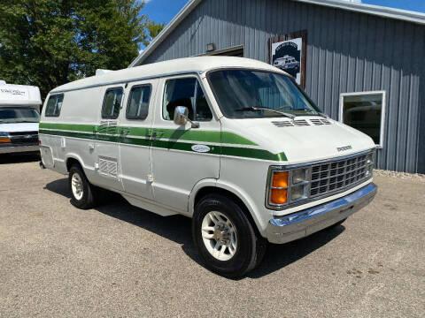 1982 Dodge B300 Xplorer 19' Class B Camper Van for sale at D & L Auto Sales in Wayland MI