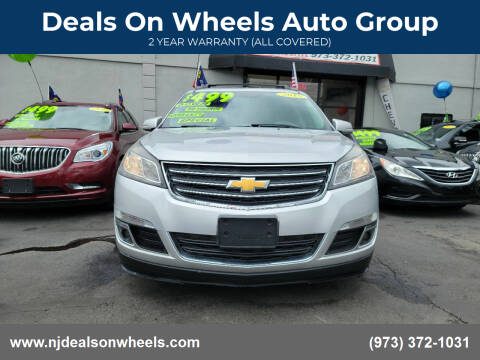 2015 Chevrolet Traverse for sale at Deals On Wheels Auto Group in Irvington NJ