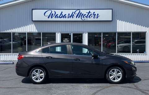 2017 Chevrolet Cruze for sale at Wabash Motors in Terre Haute IN