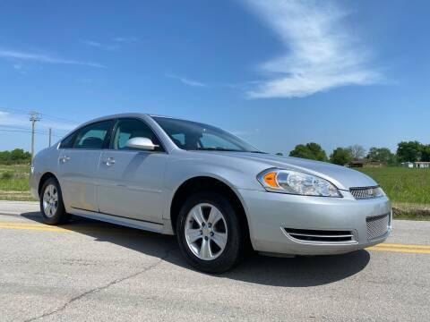 2012 Chevrolet Impala for sale at ILUVCHEAPCARS.COM in Tulsa OK