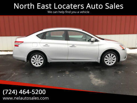 2014 Nissan Sentra for sale at North East Locaters Auto Sales in Indiana PA