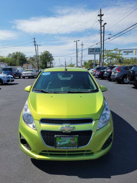 2013 Chevrolet Spark for sale at MR Auto Sales Inc. in Eastlake OH