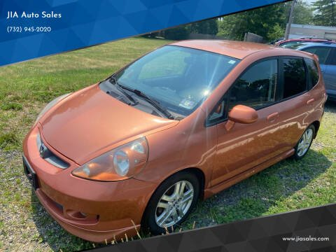 2008 Honda Fit for sale at JIA Auto Sales in Port Monmouth NJ