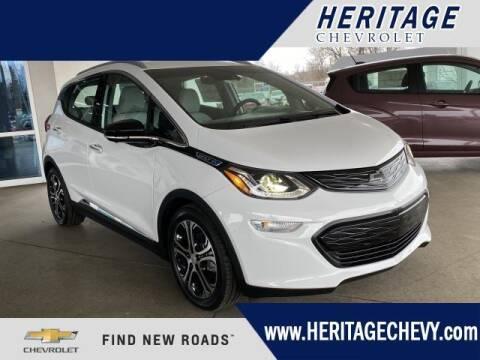 2020 Chevrolet Bolt EV for sale at HERITAGE CHEVROLET INC in Creek MI