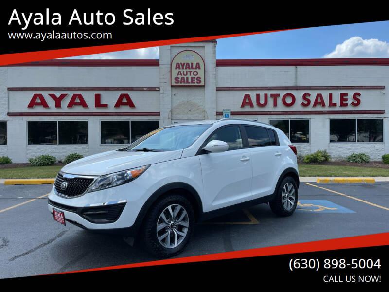 2014 Kia Sportage for sale at Ayala Auto Sales in Aurora IL