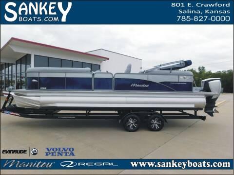 2020 Manitou Oasis 25 RF SHP for sale at SankeyBoats.com in Salina KS