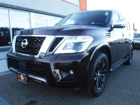 2020 Nissan Armada for sale at Torgerson Auto Center in Bismarck ND