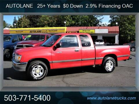 1996 Toyota T100 for sale at Auto Lane in Portland OR