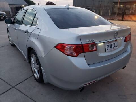 2012 Acura TSX for sale at McHenry Auto Sales in Modesto CA
