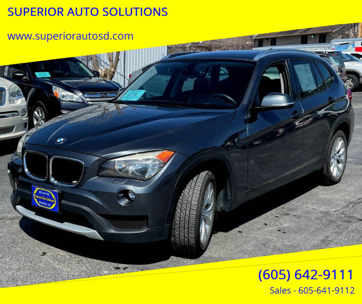 2013 BMW X1 for sale at SUPERIOR AUTO SOLUTIONS in Spearfish SD