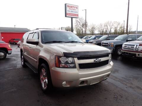 2007 Chevrolet Suburban for sale at Marty's Auto Sales in Savage MN